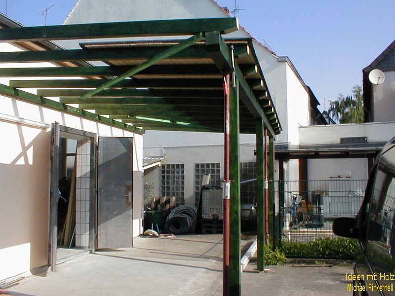 Eingangsüberdachung / Gewerbe