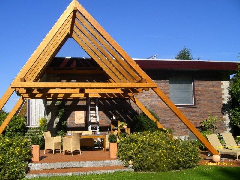 Terrassendach Haste5 Ideen Mit Holz